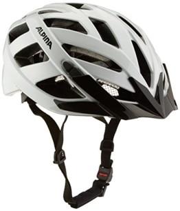 ALPINA PANOMA CLASSIC Fahrradhelm, Unisex– Erwachsene, white, 52-57 - 1