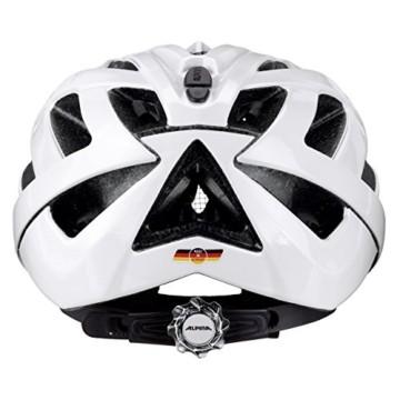 ALPINA PANOMA CLASSIC Fahrradhelm, Unisex– Erwachsene, white, 52-57 - 10