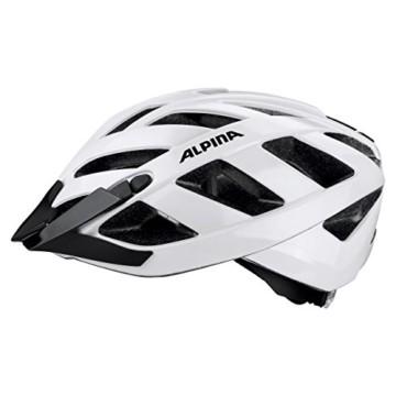 ALPINA PANOMA CLASSIC Fahrradhelm, Unisex– Erwachsene, white, 52-57 - 11