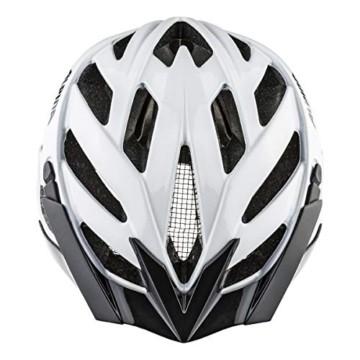 ALPINA PANOMA CLASSIC Fahrradhelm, Unisex– Erwachsene, white, 52-57 - 3