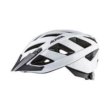 ALPINA PANOMA CLASSIC Fahrradhelm, Unisex– Erwachsene, white, 52-57 - 4