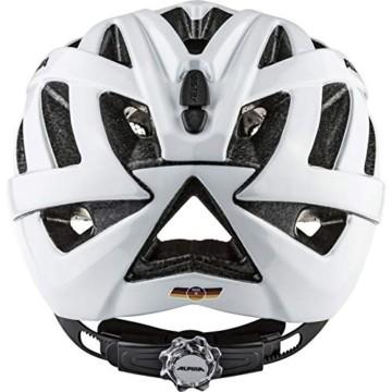 ALPINA PANOMA CLASSIC Fahrradhelm, Unisex– Erwachsene, white, 52-57 - 6