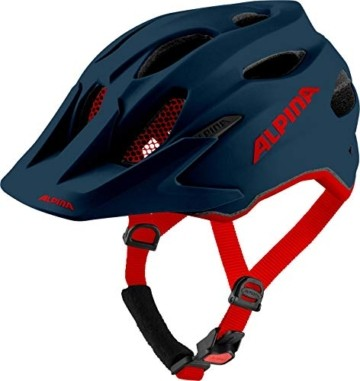 Alpina Unisex Jugend Carapax JR. Fahrradhelm, Indigo matt, 51-56 cm - 1