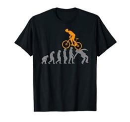 Evolution MTB Mountainbike Zubehör Fahrrad Bike lustiges fun T-Shirt - 1