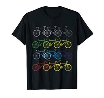 Fahrrad T-Shirt Fahrräder Geschenk Radfahrer Fahrradfahrer - 1