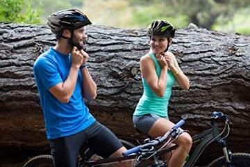 Fahrradhelm Dunlop HB13 für Damen, Herren, Kinder, EPS Innenschale, Abnehmbares Visier für optimalen Blendschutz, Leichter MTB City Bike Helm, besonders Luftig (M (55-58cm), Weiß) - 7