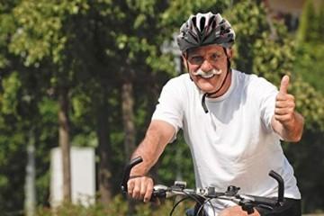 Fahrradhelm Dunlop HB13 für Damen, Herren, Kinder, EPS Innenschale, Abnehmbares Visier für optimalen Blendschutz, Leichter MTB City Bike Helm, besonders Luftig (M (55-58cm), Weiß) - 8
