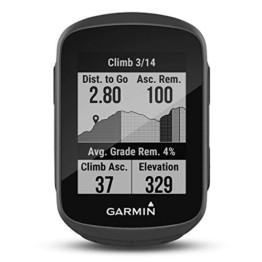 """Garmin Edge 130 Plus – kompakter, 33 g leichter GPS-Radcomputer mit 1,8"""" Display, präziser Datenaufzeichnung, Trainingsplänen, Navigation und MTB-Werten. Telefonbenachrichtigungen, bis zu 12 h Akku - 1"""
