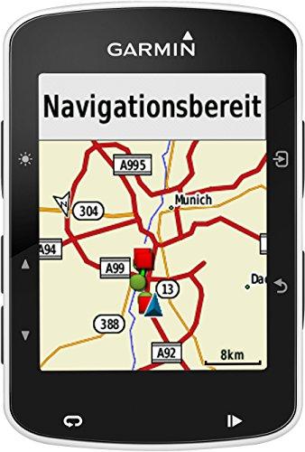 Garmin Edge 520 - GPS-Fahrradcomputer für ambitionierte Rennfahrer mit 2,3 Zoll (5,8 cm) Farbdisplay und Strava Live Segmenten (Generalüberholt) - 13