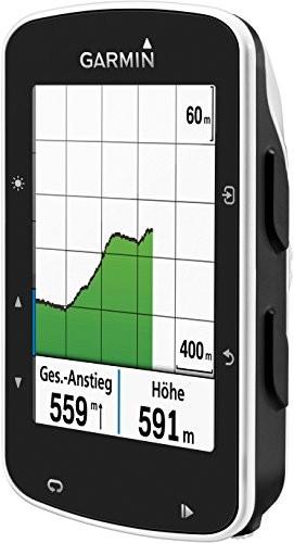 Garmin Edge 520 - GPS-Fahrradcomputer für ambitionierte Rennfahrer mit 2,3 Zoll (5,8 cm) Farbdisplay und Strava Live Segmenten (Generalüberholt) - 4
