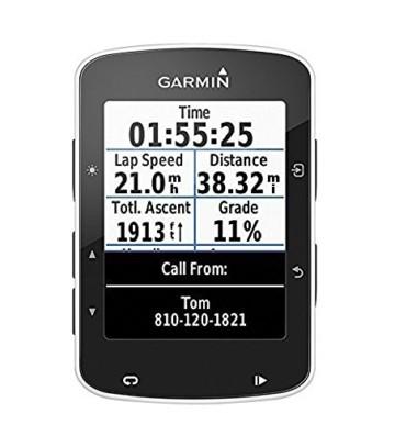 Garmin Edge 520 - GPS-Fahrradcomputer für ambitionierte Rennfahrer mit 2,3 Zoll (5,8 cm) Farbdisplay und Strava Live Segmenten (Generalüberholt) - 1