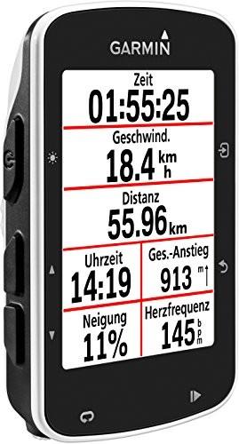 Garmin Edge 520 - GPS-Fahrradcomputer für ambitionierte Rennfahrer mit 2,3 Zoll (5,8 cm) Farbdisplay und Strava Live Segmenten (Generalüberholt) - 6