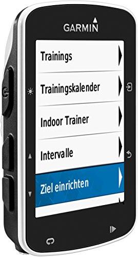 Garmin Edge 520 - GPS-Fahrradcomputer für ambitionierte Rennfahrer mit 2,3 Zoll (5,8 cm) Farbdisplay und Strava Live Segmenten (Generalüberholt) - 10