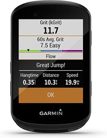 """Garmin Edge 530 – GPS-Fahrradcomputer mit 2,6"""" Farbdisplay, umfassenden Leistungsdaten, vorinstallierter Europakarte zur Navigation & bis zu 20 h Akkulaufzeit. MTB-Kennzahlen & Smart Notifications. - 5"""