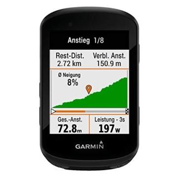 """Garmin Edge 530 – GPS-Fahrradcomputer mit 2,6"""" Farbdisplay, umfassenden Leistungsdaten, vorinstallierter Europakarte zur Navigation & bis zu 20 h Akkulaufzeit. MTB-Kennzahlen & Smart Notifications. - 8"""
