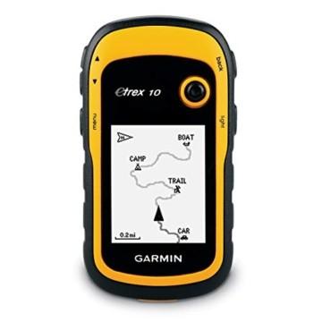 """Garmin eTrex 10 GPS Handgerät - 2,2"""" monochrome, Batterielaufzeit bis 25 Std. - 1"""