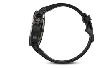 Garmin Fenix 5 Tragbarer Performer Bundle/Premium HRM-Run Brustgurt grau/schwarz 2017 Fahrradcomputer mit Herzfrequenzmesser - 3