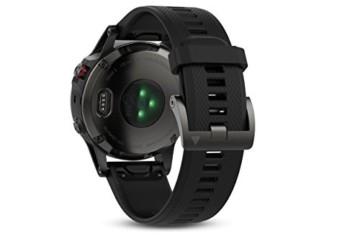 Garmin Fenix 5 Tragbarer Performer Bundle/Premium HRM-Run Brustgurt grau/schwarz 2017 Fahrradcomputer mit Herzfrequenzmesser - 4