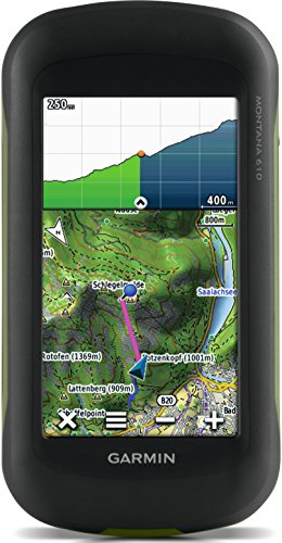 Garmin Montana 610 Outdoor-Navigationsgerät mit hochauflösendem 4'' Touchscreen-Display und ANT+ Konnektivität - 4