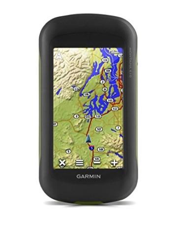 Garmin Montana 610 Outdoor-Navigationsgerät mit hochauflösendem 4'' Touchscreen-Display und ANT+ Konnektivität - 1