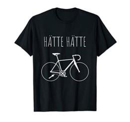 Hätte Hätte Fahrradkette T-Shirt Lustiger Spruch Radfahrer T-Shirt - 1