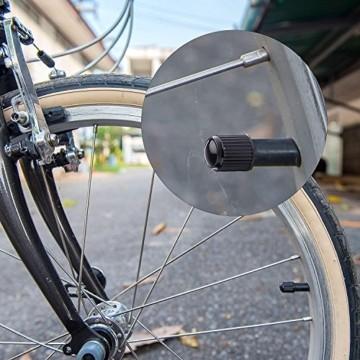PPpanda Ventilkappen 36St Reifenventil Staubkappen Staubdichte Reifenkappe für Auto, Motorrad, LKW, Fahrrad und Fahrrad (NUR Schraderventil Schrader Valve) 36St, Schwarz - 6