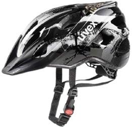 Uvex Erwachsenen Fahrradhelm Stivo CC Black/White S41079910 (52-57 cm) - 1