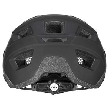 Uvex Unisex– Erwachsene, access Fahrradhelm, black, 57-61 cm - 6