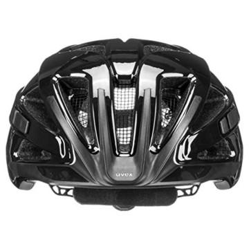 Uvex Unisex– Erwachsene, active Fahrradhelm, black shiny, 52-57 cm - 3