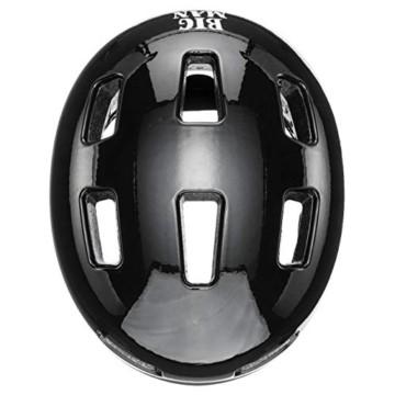 uvex Unisex– Erwachsene, city 4 Mini me Fahrradhelm, black-white, 58-61 cm - 3