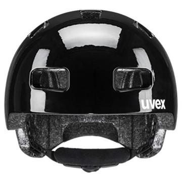 uvex Unisex– Erwachsene, city 4 Mini me Fahrradhelm, black-white, 58-61 cm - 4