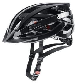 Uvex Unisex– Erwachsene, i-vo 3D Fahrradhelm, black, 52-57 cm - 1