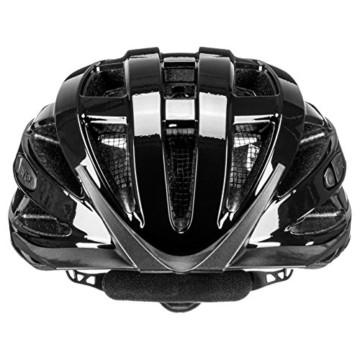 Uvex Unisex– Erwachsene, i-vo 3D Fahrradhelm, black, 52-57 cm - 2