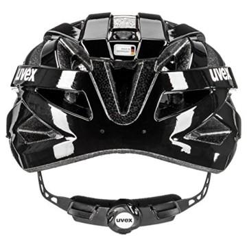 Uvex Unisex– Erwachsene, i-vo 3D Fahrradhelm, black, 52-57 cm - 4