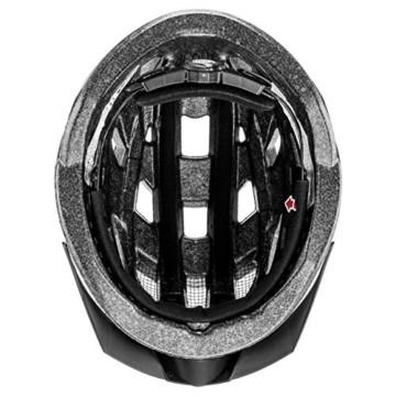 Uvex Unisex– Erwachsene, i-vo 3D Fahrradhelm, black, 52-57 cm - 6