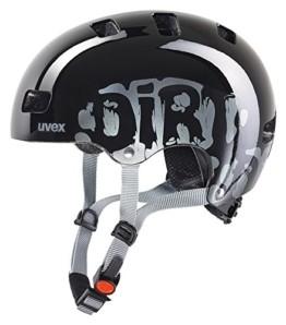 Uvex Unisex Jugend, kid 3 Fahrradhelm, dirtbike black, 51-55 cm - 1