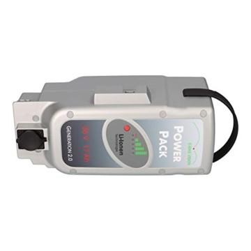 E-Bike Vision Power Pack Ersatzakku für Panasonic Antriebsystem 36V 17Ah 612 Wh + 4A Ladegerät AKKUman Set - 6