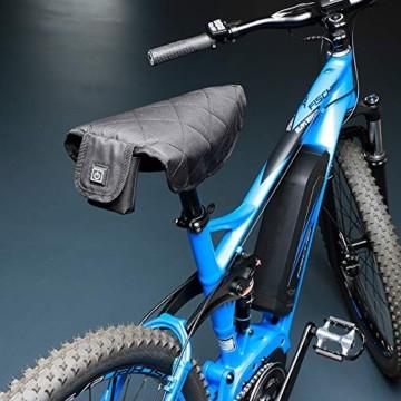 FISCHER Sitzheizung, Heizkissen, wiederaufladen, Infrarot, universell verwendbar, Fahrradfahren, Outdoor, Auto, etc - 2