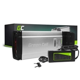 Green Cell® E-Bike Akku 36V 12Ah Li-Ion Fahrradakku Rear Rack Gepäckträger Batterie mit Ladegerät - 1
