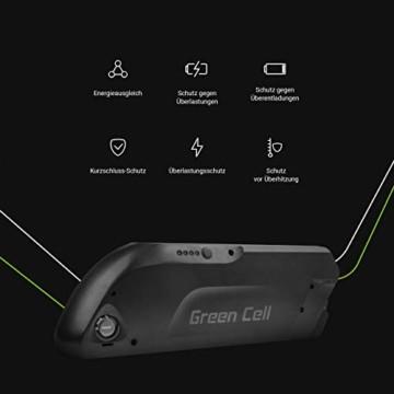 Green Cell® E-Bike Akku 36V 15.6Ah Fahrradakku Li-Ion Rahmenakku Pedelec Down Tube Batterie mit Ladegerät - 2