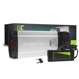 Green Cell® E-Bike Akku 36V 8.8Ah Li-Ion Fahrradakku Pedelec Rear Rack Gepäckträger Batterie mit Ladegerät - 1