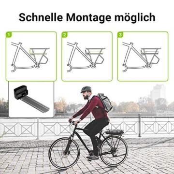 Green Cell® E-Bike Akku 36V 8.8Ah Li-Ion Fahrradakku Pedelec Rear Rack Gepäckträger Batterie mit Ladegerät - 4