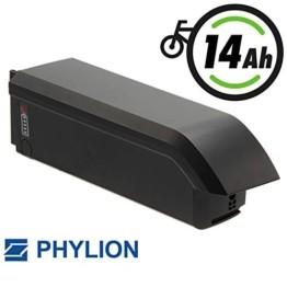 Joycube E-Bike Akku 48V 14Ah für Fischer u.a. Modell: SF-06S (5-poliger Stecker - Olympiaanordnung ) - 1