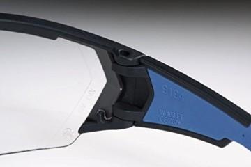 uvex i-Works Schutzbrille 9194 - Kratzfest & Beschlagfrei, 100% UV-400-Schutz - Sicherheitsbrille mit Klarer Scheibe - Arbeitsbrille mit Antibeschlag- und Antikratz-Beschichtung - 5