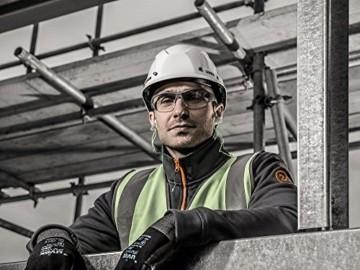 uvex i-Works Schutzbrille 9194 - Kratzfest & Beschlagfrei, 100% UV-400-Schutz - Sicherheitsbrille mit Klarer Scheibe - Arbeitsbrille mit Antibeschlag- und Antikratz-Beschichtung - 6