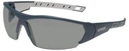 Uvex I-Works Schutzbrille - Suprav. Excellence - Schw.-Grau/Getönt - 1