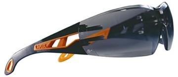 Uvex Pheos Schutzbrille - Supravision Excellence - Getönt/Schwarz-Orange - 2