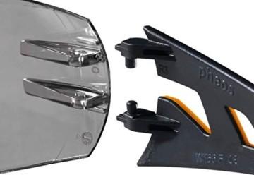 Uvex Pheos Schutzbrille - Supravision Excellence - Getönt/Schwarz-Orange - 3
