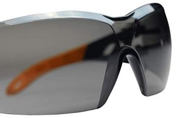 Uvex Pheos Schutzbrille - Supravision Excellence - Getönt/Schwarz-Orange - 4