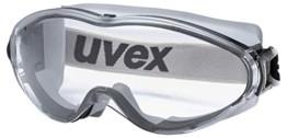 Uvex Ultrasonic Supravision Excellence Schutzbrille - Transparent/Grau-Schwarz - 1